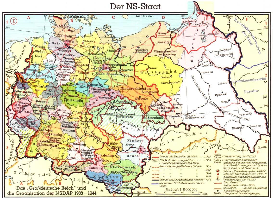 [分享]德国历史地图